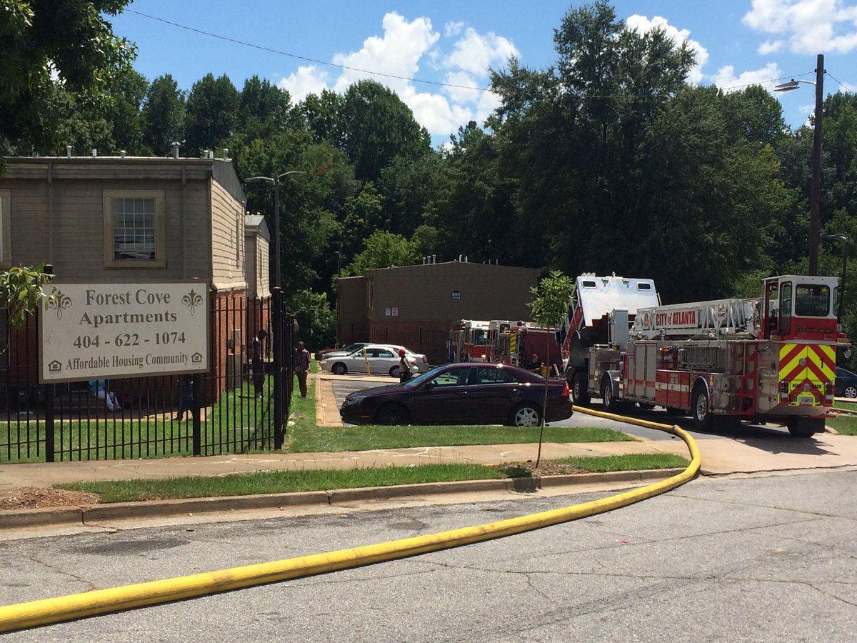 Chris Peters On Twitter Atlanta Fire Engine 2 Responded To A Residential At Forest Cove Apartments Cbs46