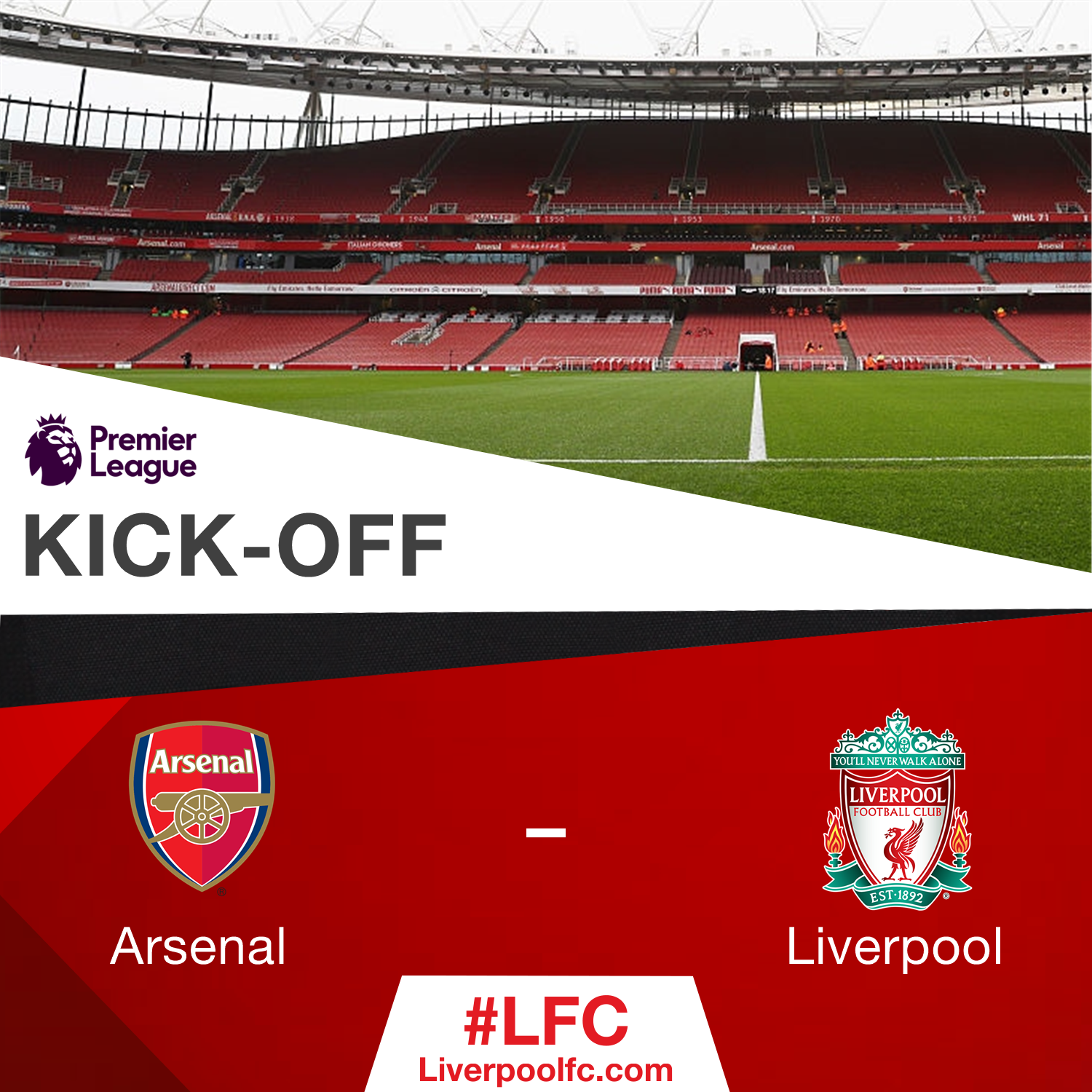 """Liverpool FC on Twitter: """"KICK-OFF: Our 16/17 ..."""