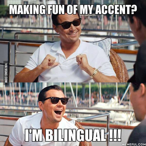 Never make fun of someone else's accent. It means they know another language. #Respect https://t.co/yxYONcuerW