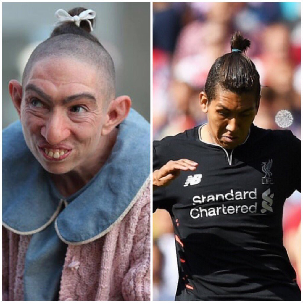 Firmino with a new hair style, not sure who wore it best? #PepperVsFirmino https://t.co/pgTsPquWj5