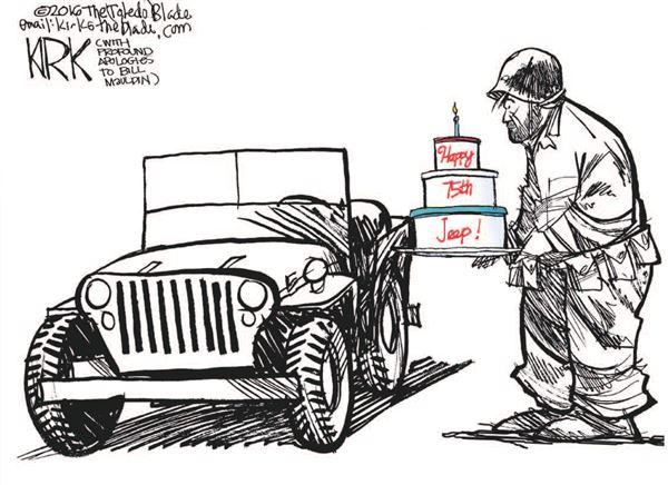 happy birthday jeep Editorial cartoon: happy birthday, @jeep!   scoopnest.com happy birthday jeep