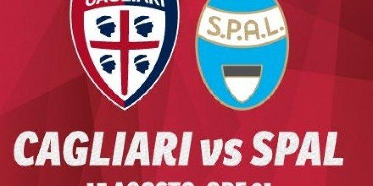 Vedere Diretta Cagliari-Spal Streaming gratis con Tablet iPhone e PC Live Oggi