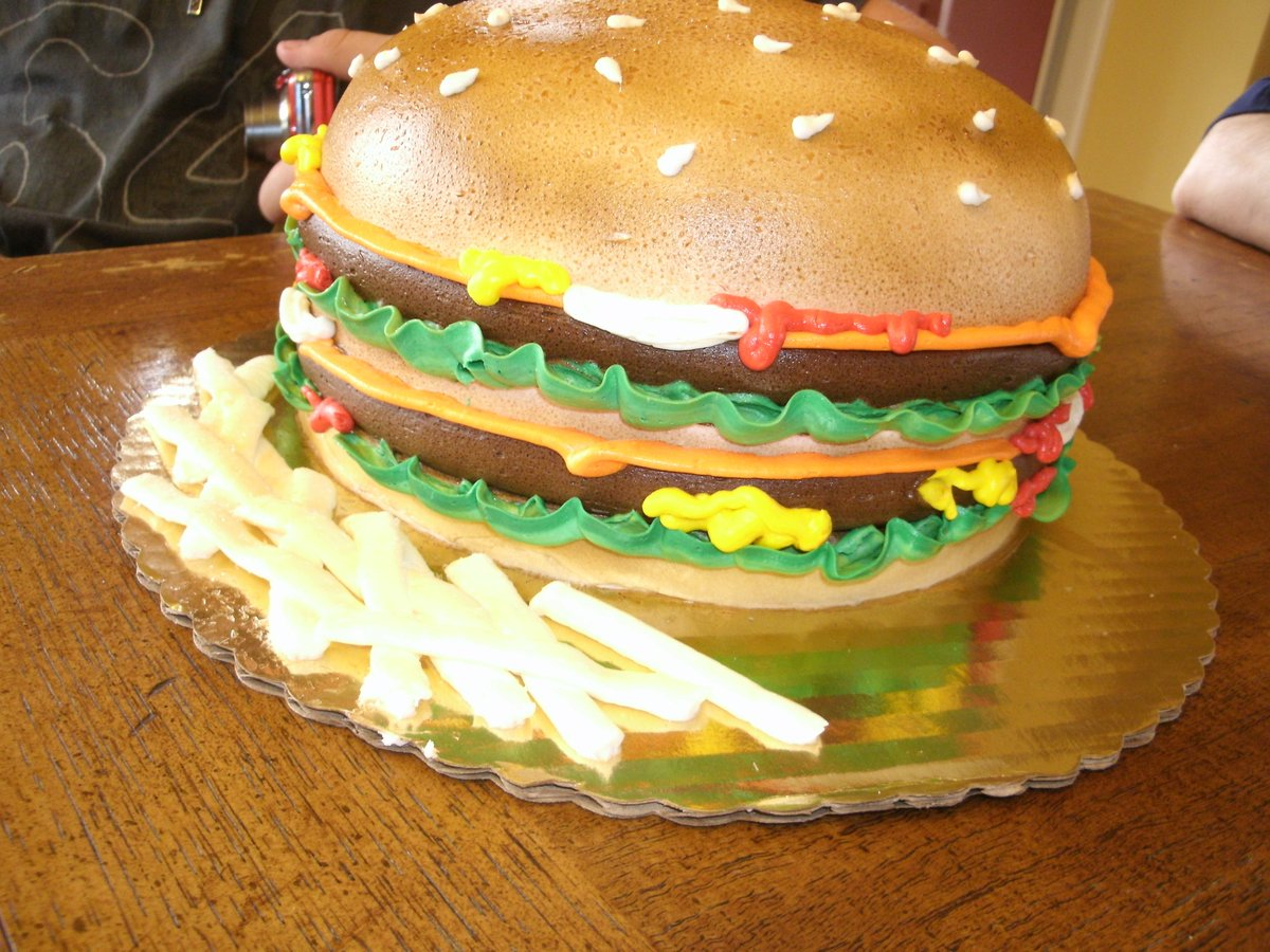 Kroger On Twitter That Cake Is A Burger Or