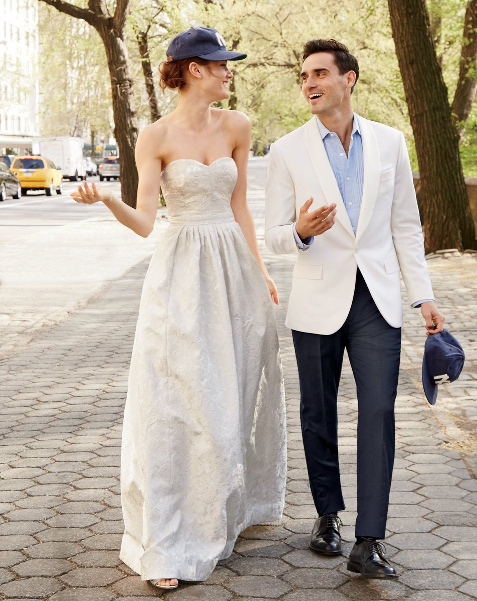 Calling All Brides J Crew's Wedding Boutique Is Back