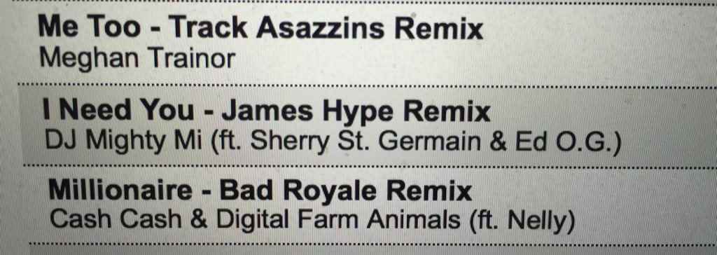 Peep that @JamesHYPE remix of my new tune - found exclusively on the world famous @DJcity @DJcityUK https://t.co/cjeSRAdWbE