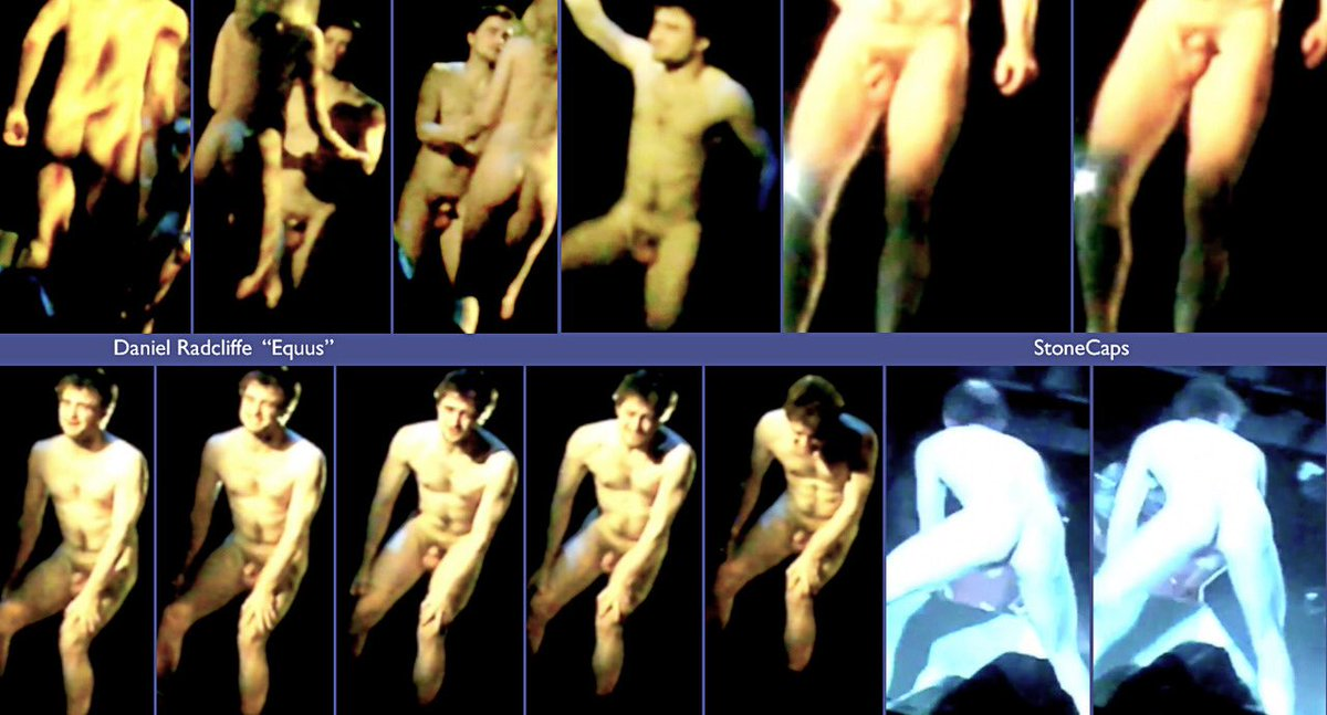 The Sexy Daniel Radcliffe Nude