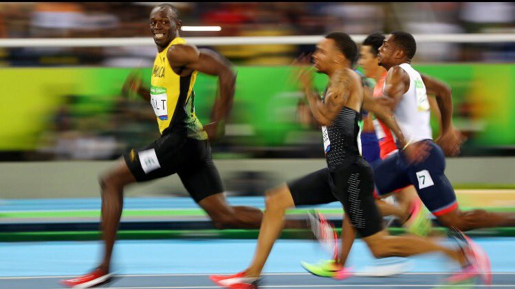 When you've tricked the world into thinking Justin Gatlin has a chance: https://t.co/ASXzCLk4lX