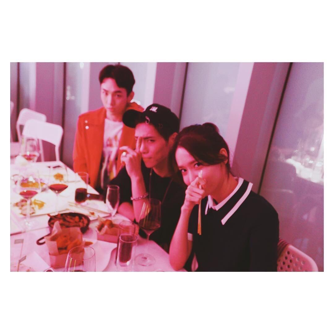 Jonghyun and Yoona on JumPic com