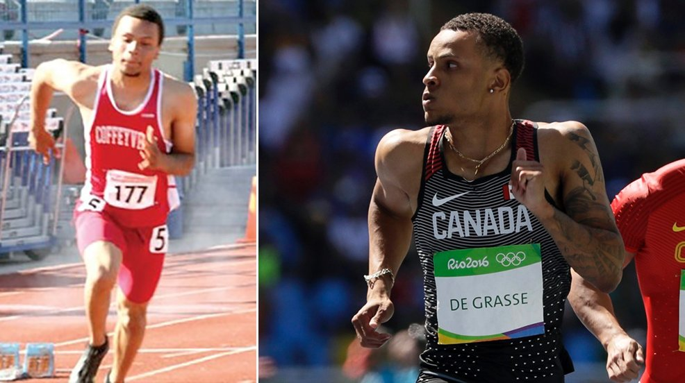 Congrats to Andre De Grasse from Coffeyville (KS) on winning #Bronze in the #Olympics 100m dash!  #NJCAAinRio #CAN https://t.co/v3qLLU27Q5