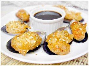 Рецепт мидии в сливочно чесночном соусе