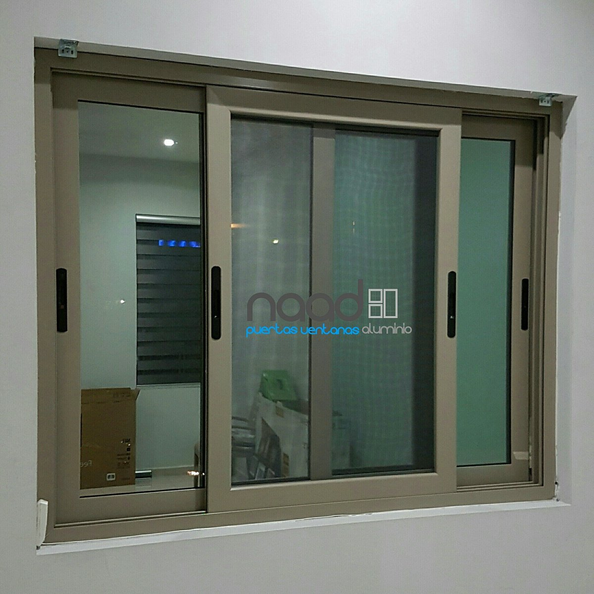 Naad aluminio naad aluminio twitter for Puerta ventana de aluminio corrediza