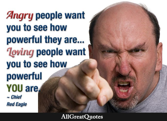 Allgreatquotes On Twitter Angry People Want You To See How