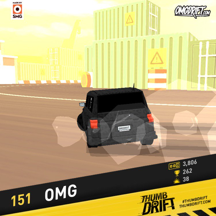 I scored 151 in #thumbdrift by @smgstudio but trust me that wasn't easy. https://t.co/6qQIHPV3sh https://t.co/yq6nXChSaJ