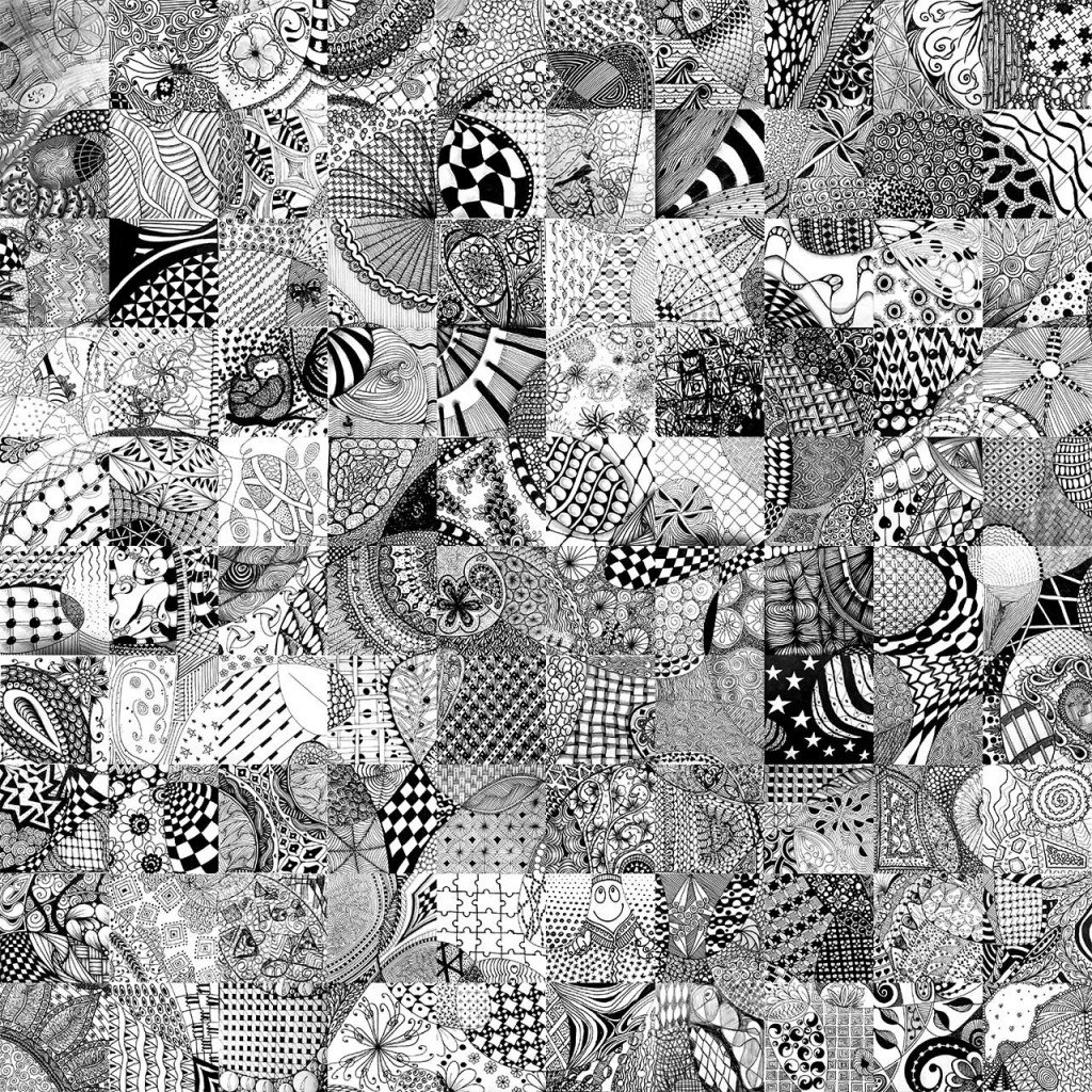 Didatticarte on twitter scarabocchiare ad arte il for Zentangle per bambini