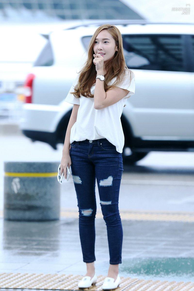 Jsy Fashion On Twitter 150712 Jessica Jung Incheon Airport Sicasairportfashion