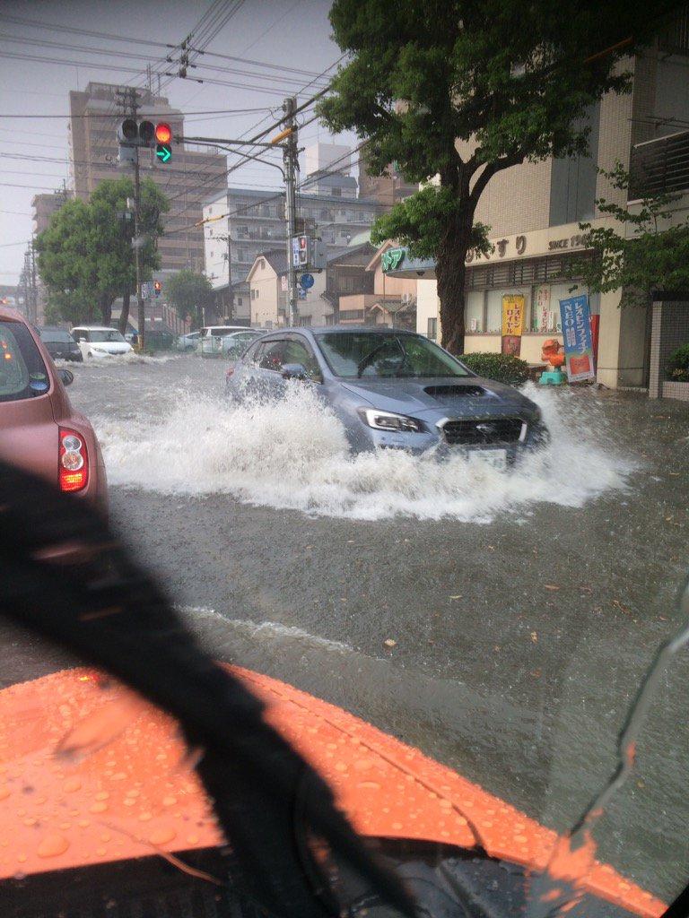 現在の岡山市内の様子です。 https://t.co/HVKbHE2WgA