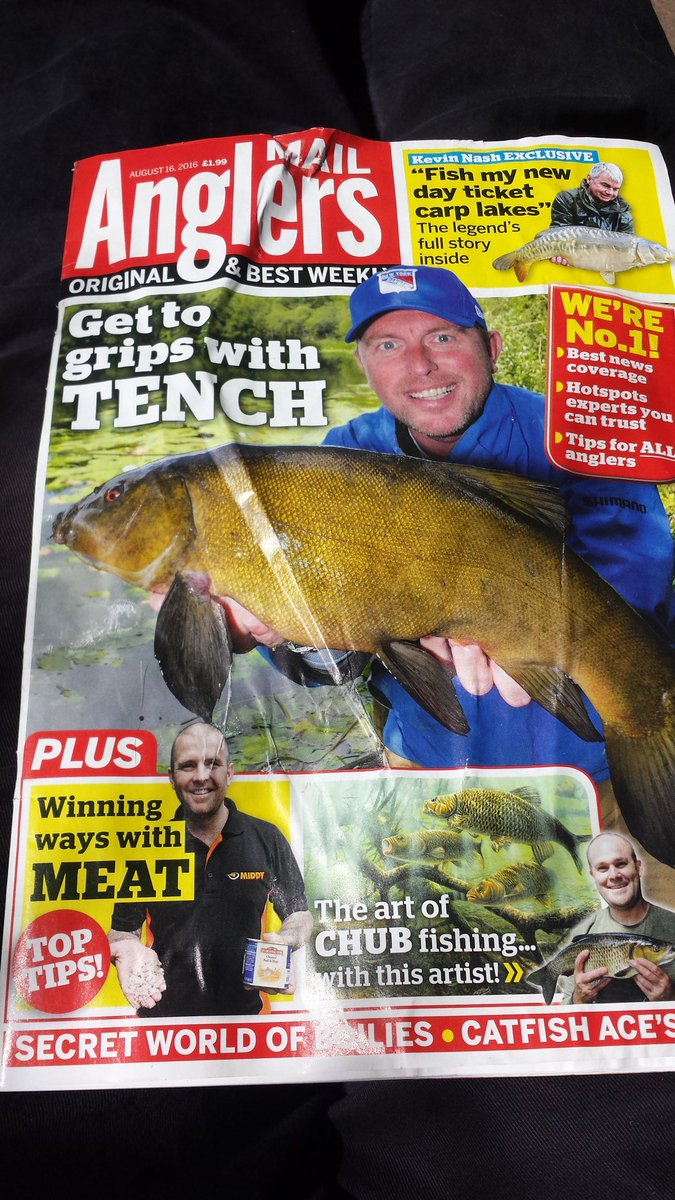 "Adam Rayner on Twitter: ""Worth subscribing to Anglers Mail. Mostly it arrives a day early! This week, Bailey-san writes about David Cowdry.… """