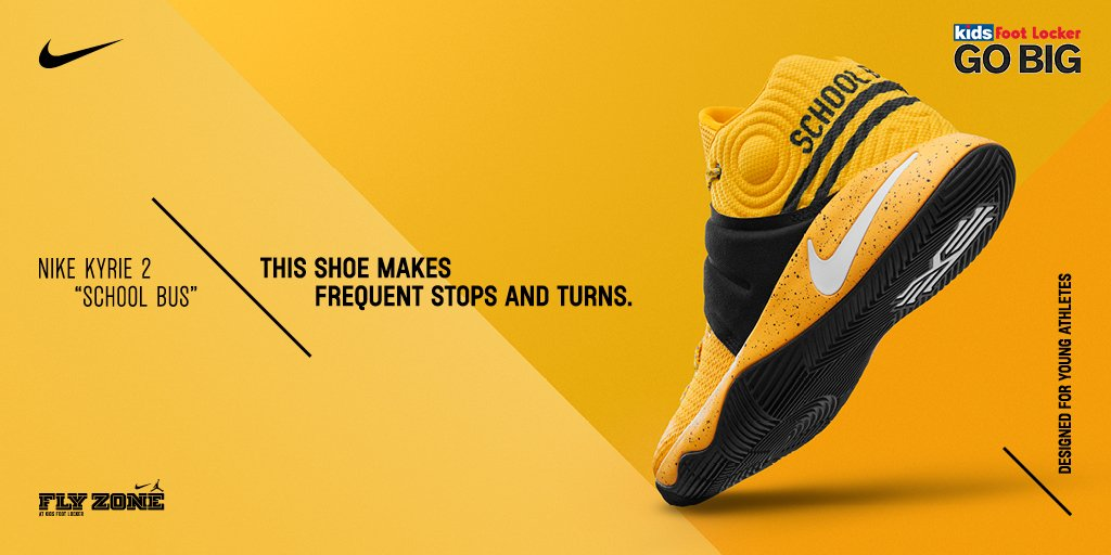 0b3591ef53ae coupon kids foot locker on twitter the nike kyrie 2 school bus is in stores  and
