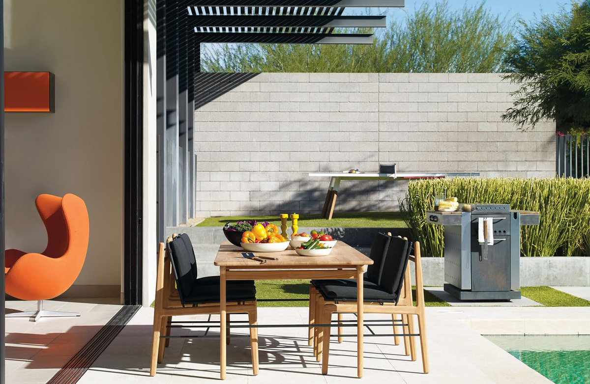 Design Within Reach On Twitter Finn Dining Table And Chairs Designed By Norm Architects Https T Co Wdmefxkipg Muebles Diseño Moderno Outdoor