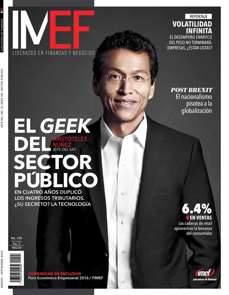 """En la nueva edición de #RevistaIMEF: """"El geek del sector público"""". Cómprala en Sanborns, VIPS y el IPADE. https://t.co/gnAJlMJDW3"""