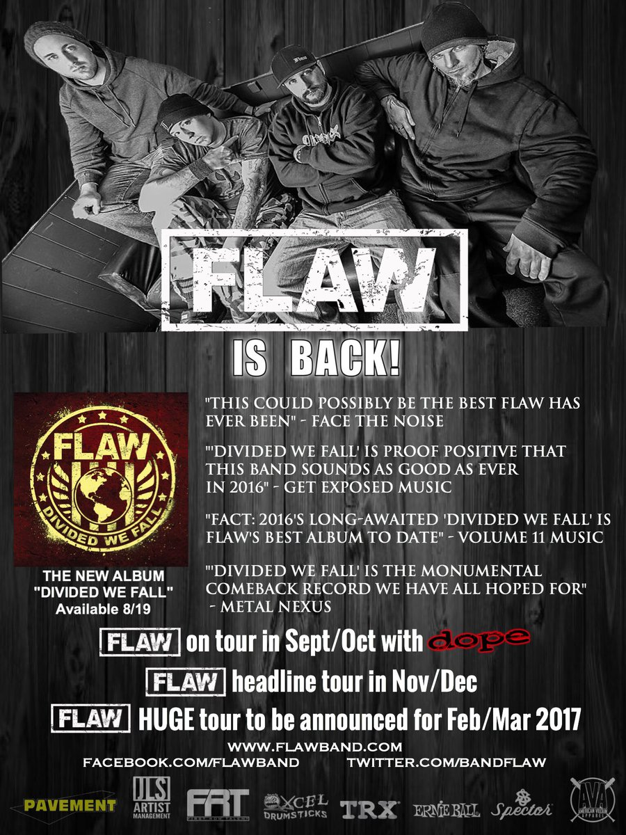 Flaw On Twitter This Friday Dividedwefall Pavementcorp Jasonspiewak