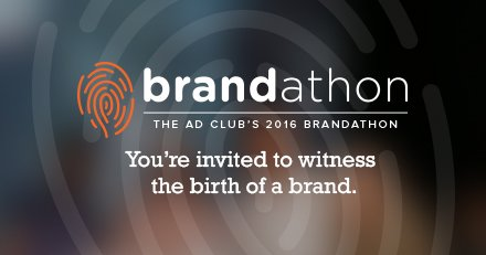Watch N.E.'s best branding minds do what they do best. #Brandathon2016 this Thurs! TIX: https://t.co/GI23OJ6KgG https://t.co/XGlmRz8gy2