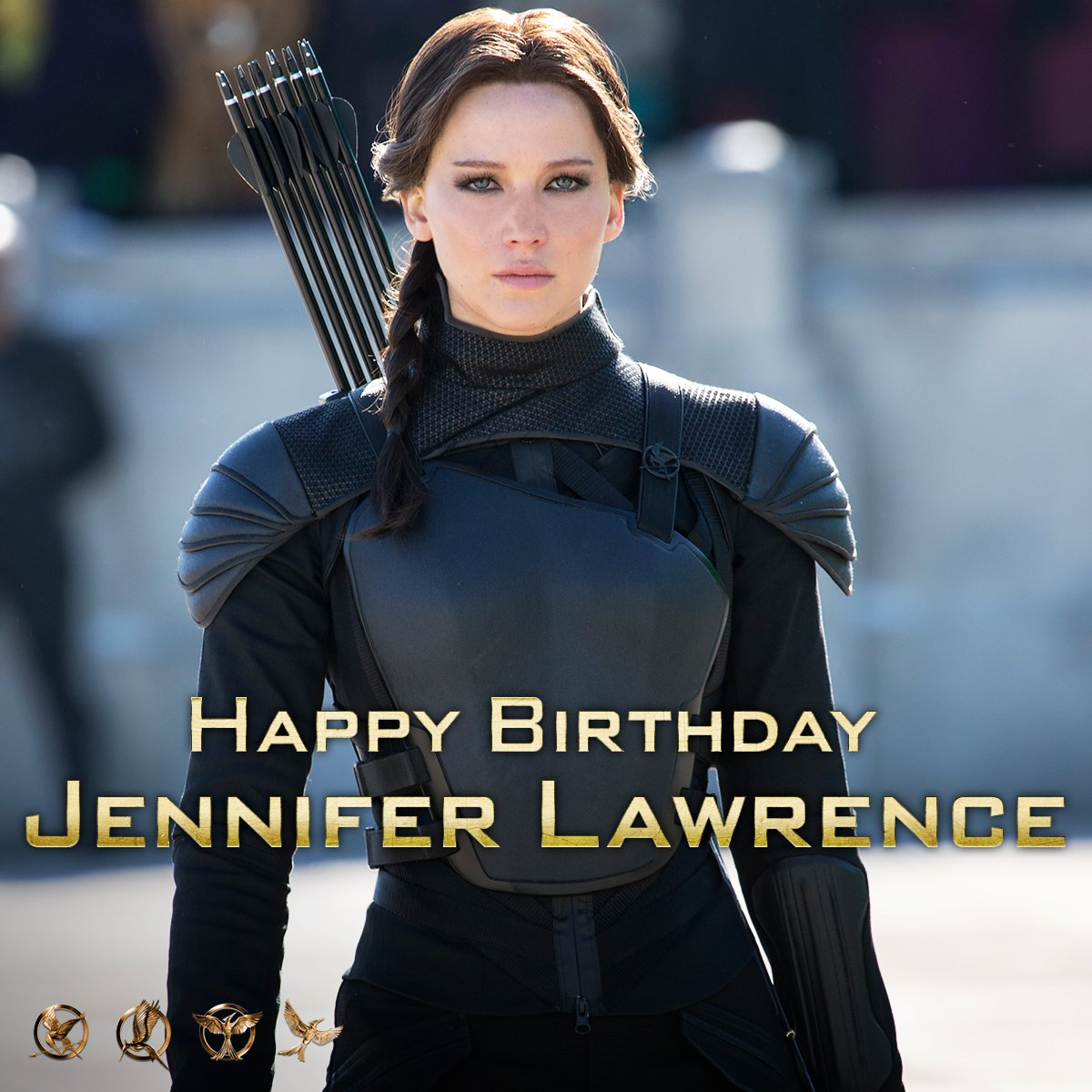 HBD #JenniferLawrence! #TheHungerGames wouldn't be the same without you. https://t.co/MV9JFTnAAb