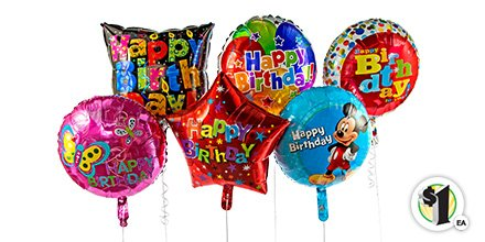 Dollar Tree On Twitter Arent These Birthday Balloons Awesome