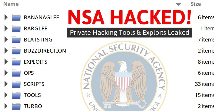 #NSA's Hacking Group Hacked! Bunch of Private #Hacking Tools Leaked Online  https://t.co/5zSNNUsZjT #security