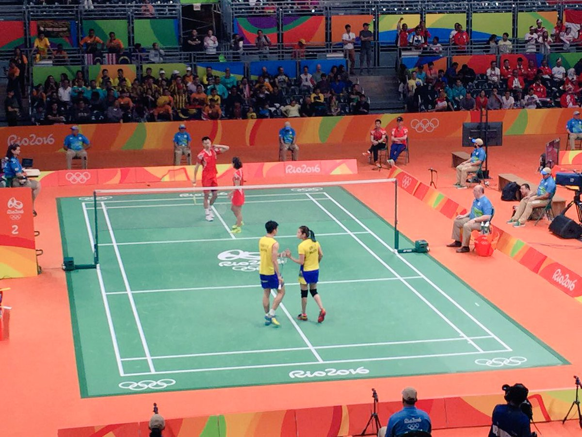 #MAS Mixed Doubles pair Peng Soon/@gohliuying advance into the finals! @Khairykj @TeamMsia #GoTeamMalaysia #Rio2016 https://t.co/D3uoR4JQtr