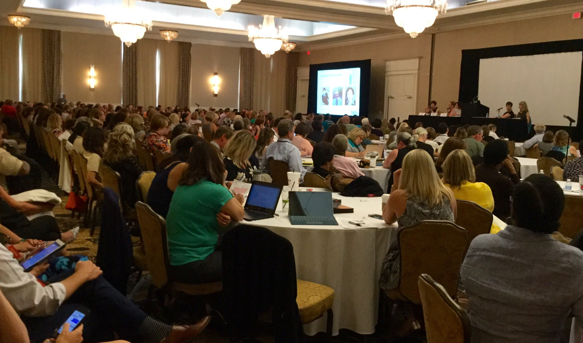 Standing room only for the @ED_Sped_Rehab and @ACFHHS Q & A session at #ECIDEA16 https://t.co/lnRXr81CBZ