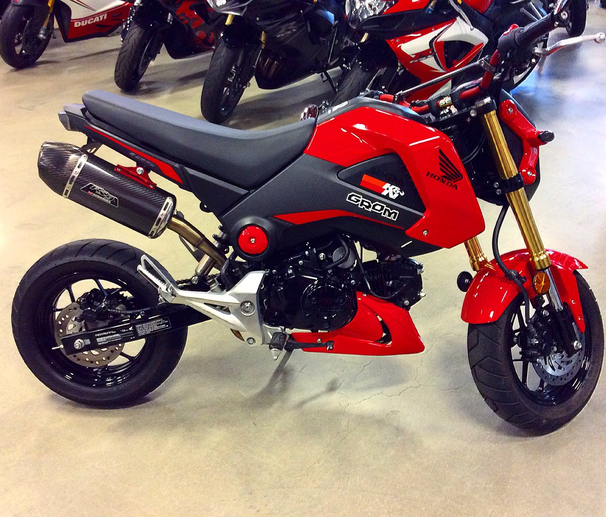 mall motorcycle retweets likes grom125 honda