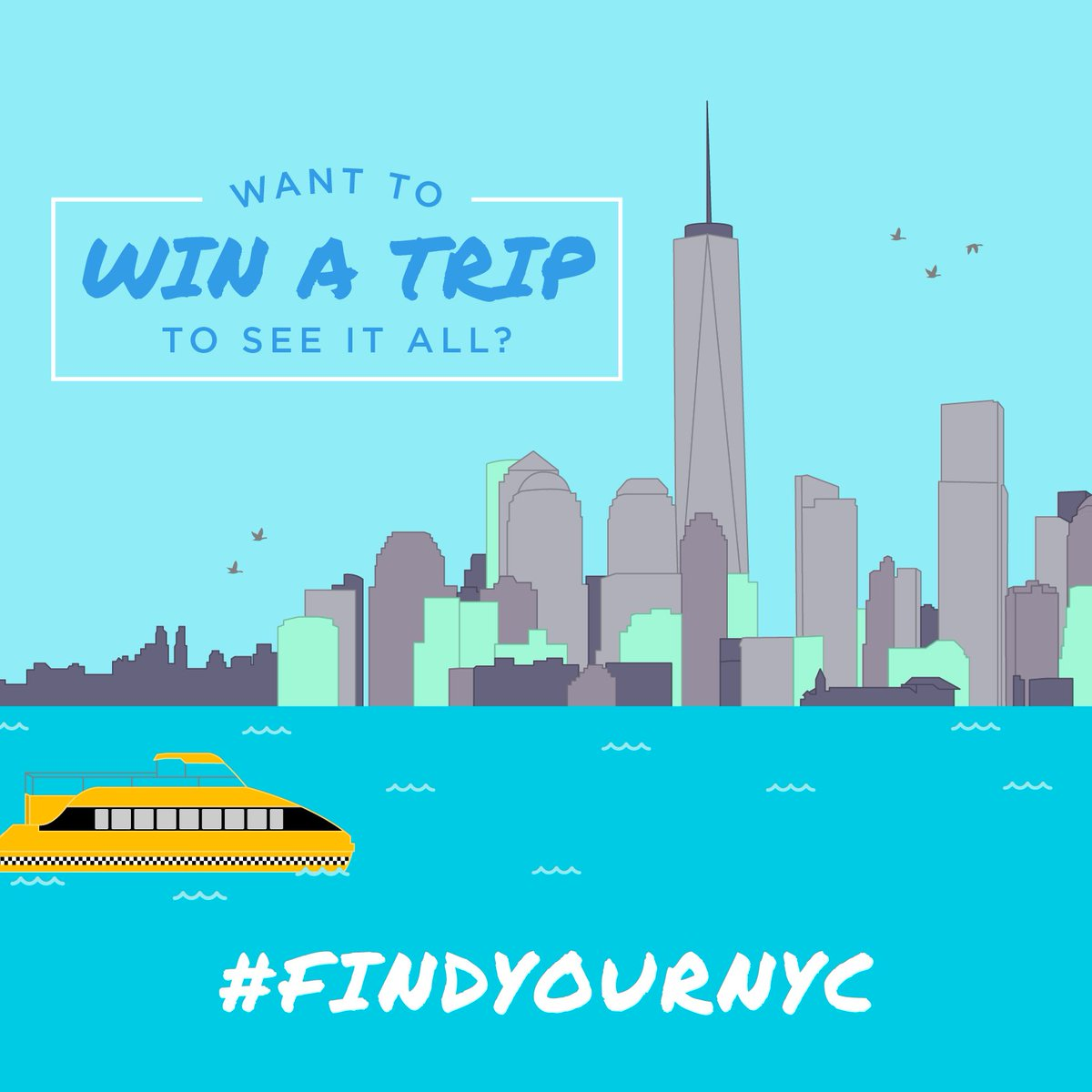 How does a free trip to New York sound? Yeah, we thought so. Find our more! https://t.co/xxHLE3xTf2  #FindYourNYC https://t.co/OmleVicy3w
