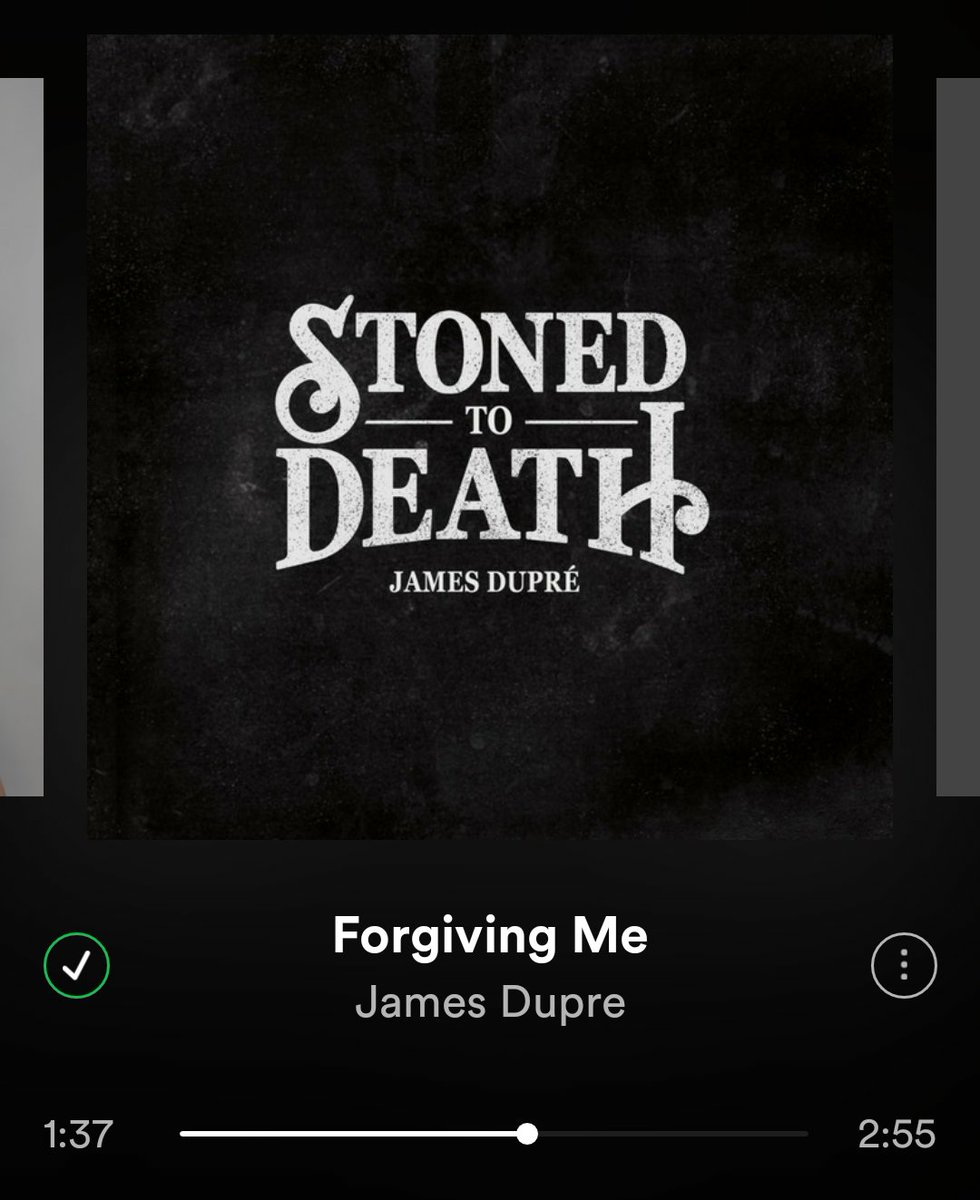 """""""And peace of mind is what you spend the long night earnin'..."""" #ForgivingMe @JamesDupre"""