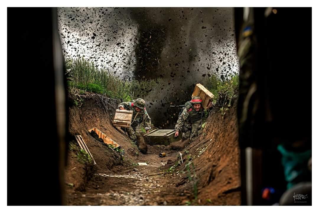 На Мариупольском направлении боевики использовали тяжелую артиллерию и минометы, - пресс-центр штаба АТО - Цензор.НЕТ 8718