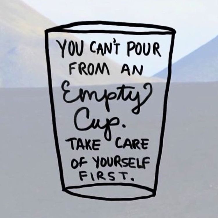 Action For Happiness On Twitter You Cant Pour From An Empty Cup