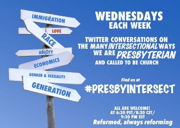 Join us Wednesday for #PresbyIntersect with @grammercie on Intersections of Trauma: Solidarity and Failures. https://t.co/k5JvsNLHU1