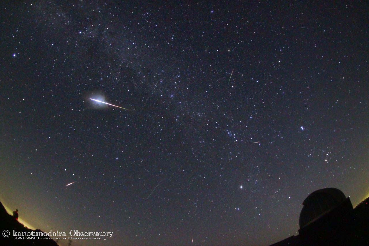ペルセウス座流星群2016