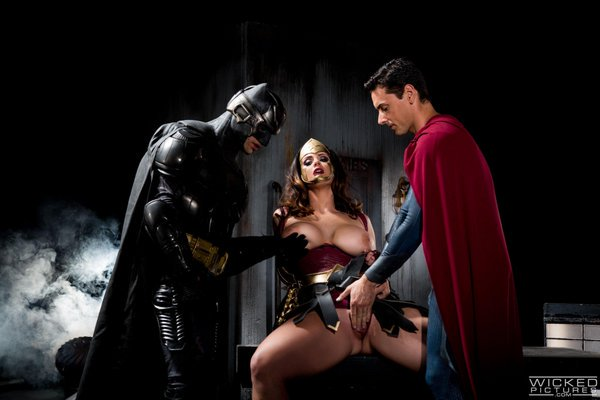 Wonder woman batman vs superman porno