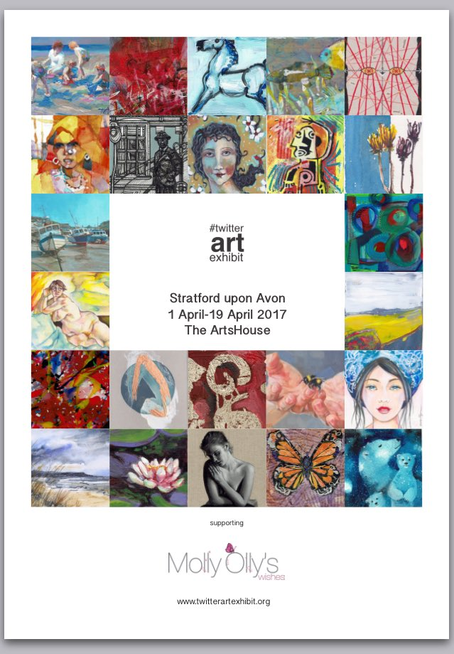 #TAE17 is on its way! Artists helping #charities by donating an original postcard. This year in UK for @MollyOllys https://t.co/r38FSxIlbH