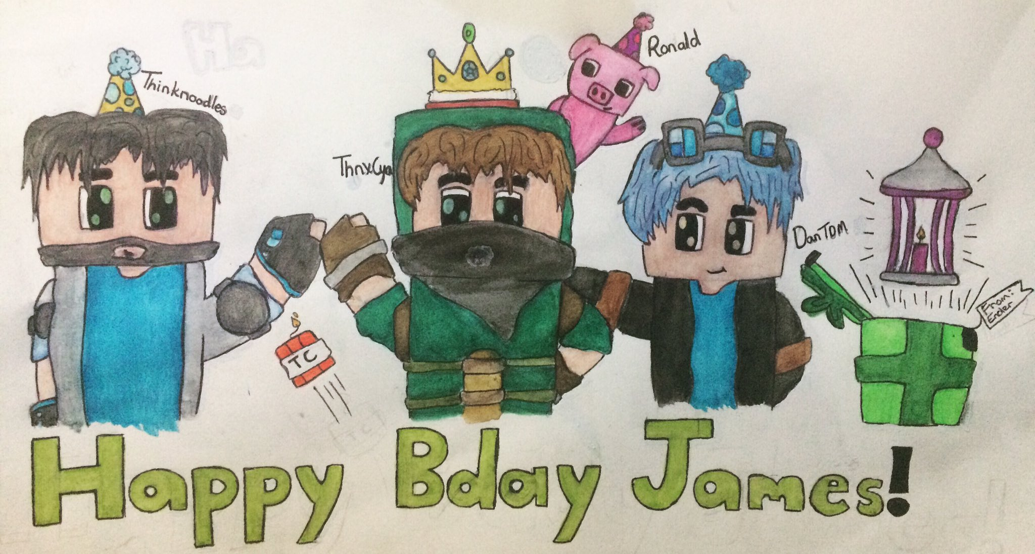 Endercookiez On Twitter Quot Happy Bday To Thnxcya 😇 Have An