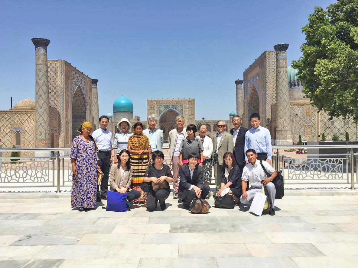 文化交流使節団「中央アジア文化交流ミッション」の #ウズベキスタン #カザフスタン #キルギス #タジキスタン #トルクメニスタン 5ヶ国への派遣を行っています。中央アジアの文化・社会事情の視察、有識者等との意見・情報交換など。