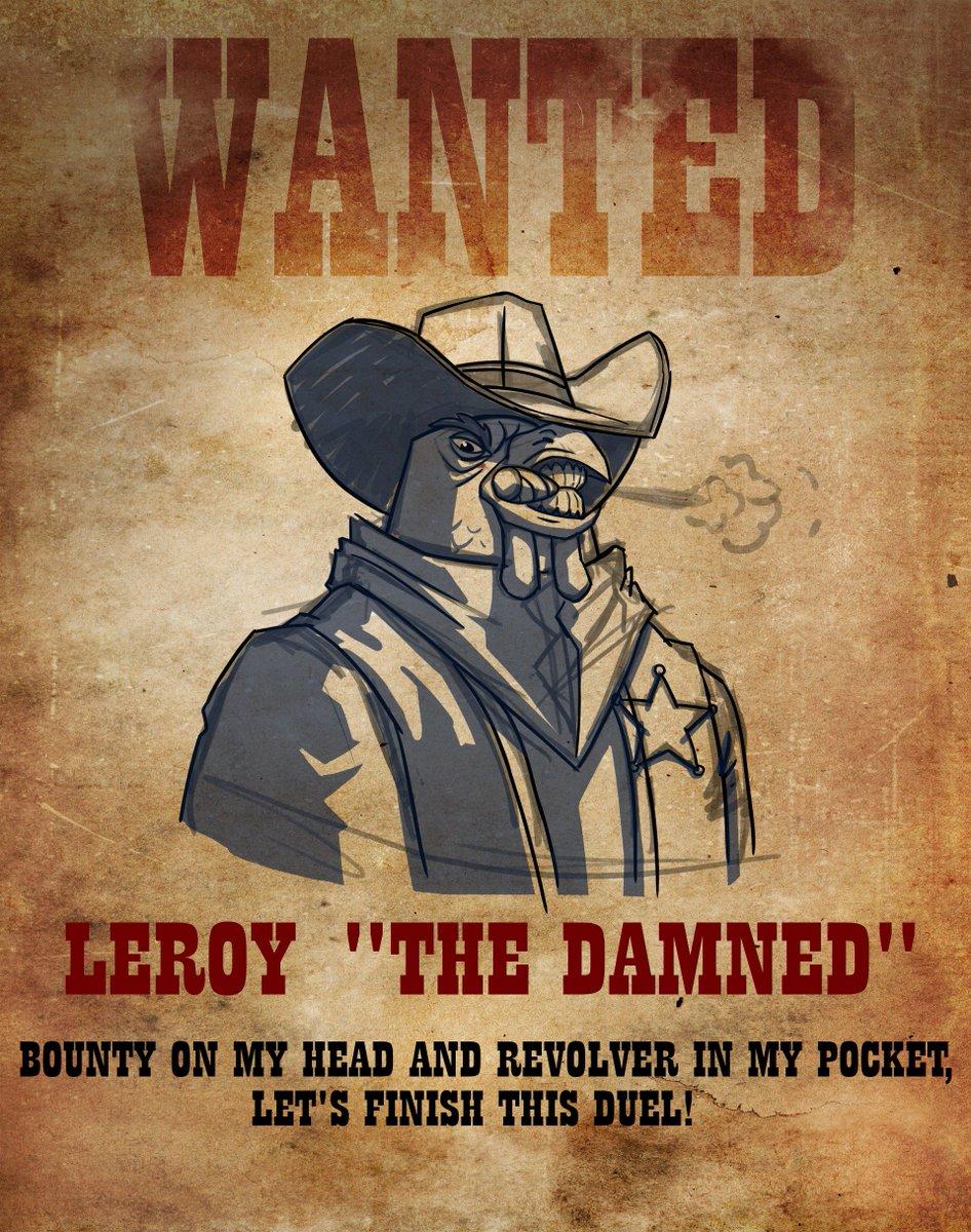 Mr. Leroy awaits you in battle! #RoosterWars https://t.co/BUiZrzkMgm