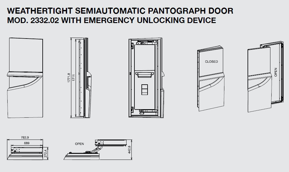 Opacmare Sales on Twitter  Video of our new weathertight semiautomatic pantograph door #2332 //t.co/FqigkE6Vyq #superyacht #yachtingu2026    sc 1 st  Twitter & Opacmare Sales on Twitter: