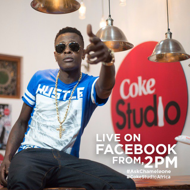 Make a date. At 2pm @JChameleone will be chatting live with fans. So #AskChameleone anything. #CokeStudioAfrica https://t.co/9SFuIRKeGN