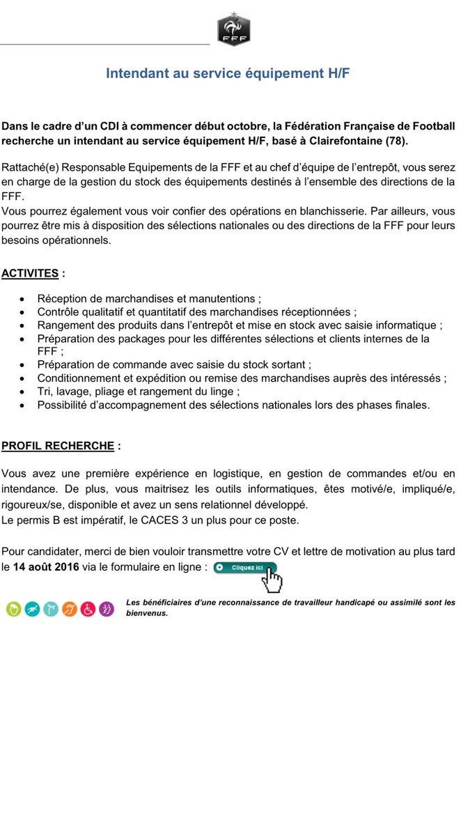 Frédérique Jossinet Auf Twitter Cdi Intendant