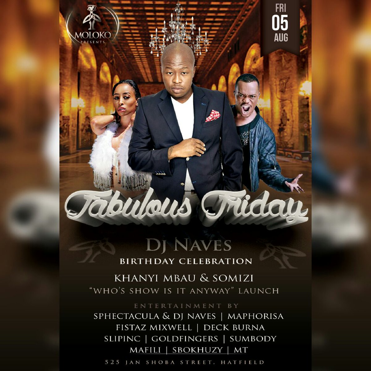 The weekend in pics @molokopretoria ... @DJNAVES & @NomzamoMbatha celebrate their birthdays with us. #WeArePTA