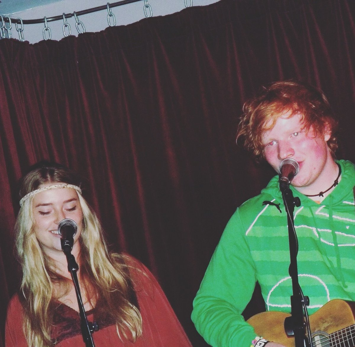As if this was 6 years ago today  @edsheeran  ! The headband