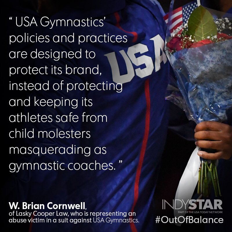 USA Gymnastics has secret complaint dossiers on more than 50 coaches. https://t.co/Ew2yNbren5 https://t.co/hSiCoM818N