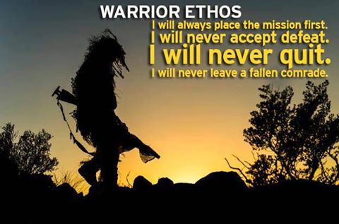 "warriors ethos The american warrior ethos by robert viktor reich in ""what is american  nationalism"" i said: under the system of nationalism we'd be."